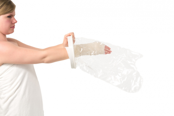 Shower sleeve - arm half