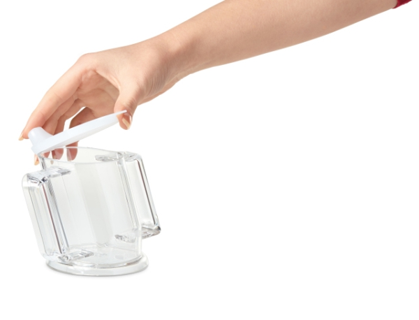 Becher - Handy transparent